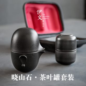 Evan ceramic kung fu tea sets travel crack cup portable caddy fixings is suing contracted a pot of four cups