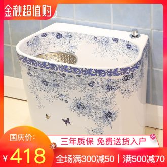 Million birds ceramic wash mop pool mop pool large balcony palmer pool mop pool mop basin bathroom home