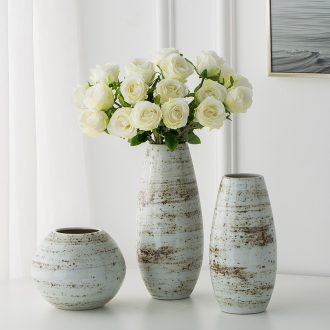Jingdezhen ceramic vases, I and contracted study furnishing articles sitting room creative fashion hydroponic flower arranging flowers vases