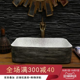 On bonsai, ceramic lavabo that defend bath lavatory basin art basin carved restoring ancient ways