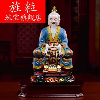 Bm ceramic Taoism Buddha too old gentleman on spi beginning moral sanqing father of Buddha statues