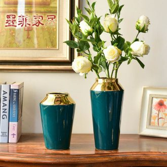 Murphy light modern luxury ceramic vase hydroponic furnishing articles in the creative living room table simulation flower art flower arranging
