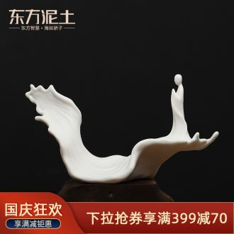 Oriental clay ceramic zen furnishing articles new Chinese style club teahouse desktop decoration/cross the D15-15 b
