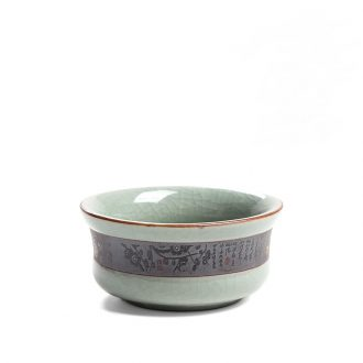 Elder brother kiln owners who cup single cup ice cracked piece sample tea cup kung fu tea set personal single cups of tea light ceramic personality