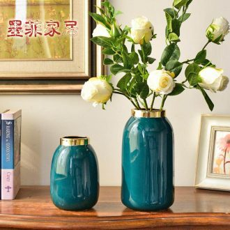 Murphy, contemporary and contracted creative ceramic vase hydroponic European sitting room adornment simulation flower art flower arranging, furnishing articles