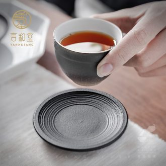 Tianyu and hall taste a cup of tea taking master cup kung fu tea cups a single Japanese household ceramic cups of tea light