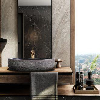 The stage basin of jingdezhen ceramic lavabo oval Chinese creative art hotel toilet lavatory toilet