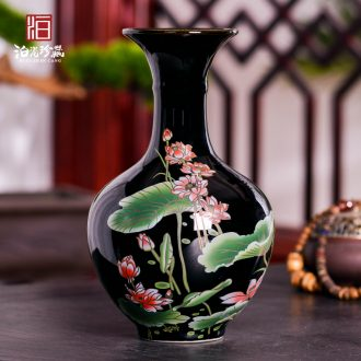 Jingdezhen ceramics vase furnishing articles TV ark dried flower flower arranging the modern Chinese style household sitting room adornment porcelain