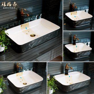 The stage basin sink ceramic home for wash face basin bathroom sink northern art rectangular basin