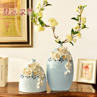 Murphy, contemporary and contracted ceramic hand knead vase north European sitting room porch simulation table floral hydroponic furnishing articles