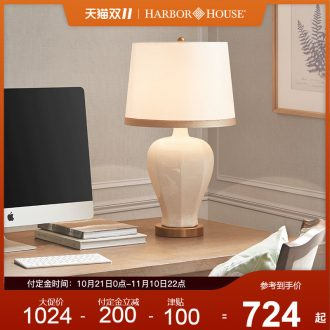 Harbor House classic ceramic desk lamp contracted sitting room adornment lamps and lanterns study bedroom berth lamp Sates