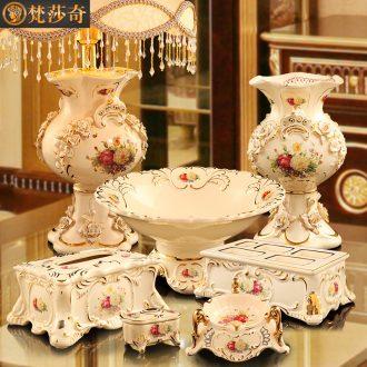 Vatican Sally 's European furnishing articles luxurious sitting room tea table ceramic decoration new wedding wedding gift girlfriends friend