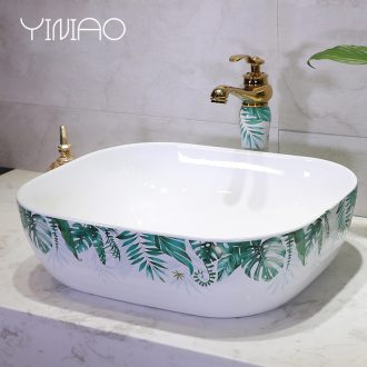 Basin stage Basin art ceramic round the sink the lavatory Basin sink contracted household toilet