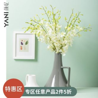 Nordic ins wind contracted household vase interior furnishing articles sitting room flower arranging vase creative ceramic decoration