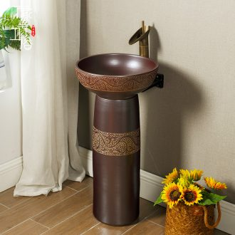 M the lavatory ceramic art simple one floor balcony toilet toilet outdoor hand-washing basin