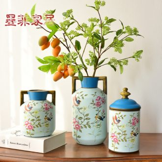 Murphy European farm ceramic vase hydroponic American country restaurant desktop soft adornment furnishing articles flower arrangement