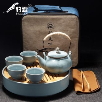 Leopard lam home your up kung fu tea set ceramic dry tea cups dish suits for Japanese contracted small tea sets tea sea