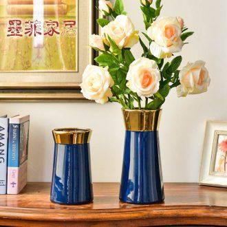 Light murphy Jane European luxury ceramic vase hydroponic creative flower arrangement sitting room place household decorative dried flowers floral arrangements