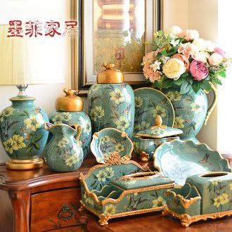 Murphy ceramic household soft adornment ornament artical living room TV cabinet series wine porch place