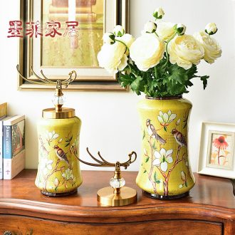 Murphy American ceramic vase furnishing articles European creative living room TV ark wine porch decoration home decoration