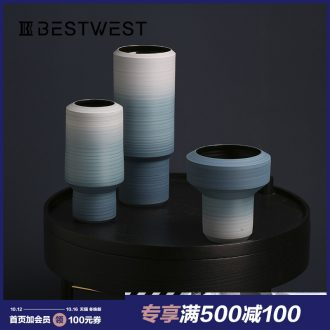 BEST WEST light key-2 luxury furnishing articles ceramic vases, I and contracted sitting room dried flowers, flower arrangement, soft decoration ideas