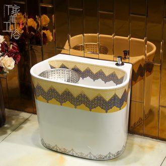 M beautiful ceramic wash mop pool home floor mop pool large balcony toilet mop pool mop pool