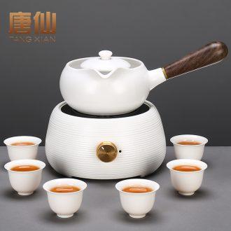 Tang Xian TaoLu boiled tea machine ceramic pot teapot side pu 'er burn electric teapot boiled tea stove small white tea
