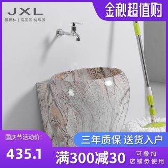 Mop marble trumpet mop basin of ceramic wash basin faucet mop pool toilet mop pool mop pool