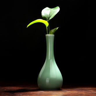The Vases, ceramic Vases, furnishing articles flower arranging creative contracted sitting room flower implement hydroponic flower porcelain ceramic bottle furnishing articles