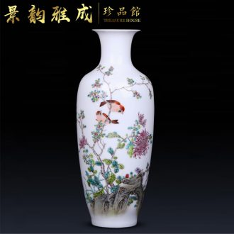 Jingdezhen ceramic checking out creative flower arranging place to live in the sitting room TV ark, arts and crafts porcelain vase decoration