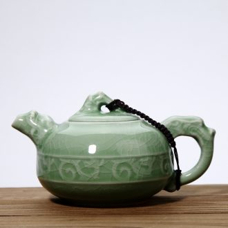 Goodall up ceramic teapot elder brother, the ice cracked piece of your up with violet arenaceous kettle manual kung fu tea tea pot