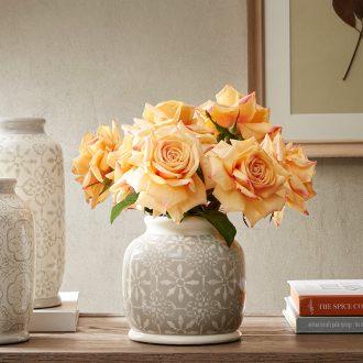 Harbor House insert American ceramic vase sitting room place, dried flowers, bibury creative home decorations