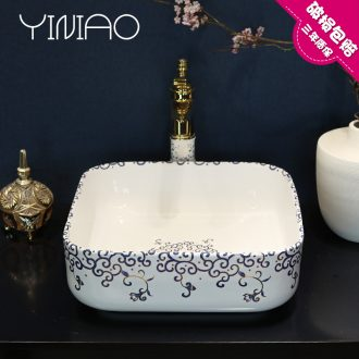 Ceramic art basin to the stage to deepen the sink lavatory basin washing dish wash basin toilet