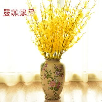 Murphy, American country ceramic vases, new Chinese style living room dry flower arranging flowers, soft adornment handicraft furnishing articles