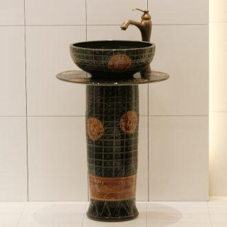 Jingdezhen ceramic basin bathroom sinks the post sink balcony sink one - piece toilet stage basin