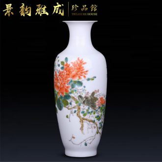 Jingdezhen ceramic flower vases of new Chinese style living room decoration crafts are I and contracted household porcelain