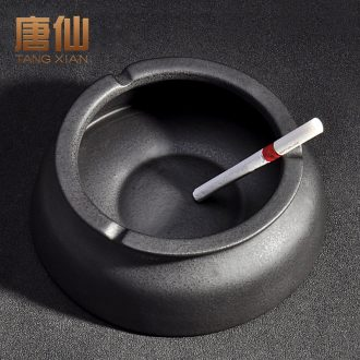 Tang Xian large creative ashtray personality ceramic wind fashion sitting room adornment kung fu tea tea ceremony with zero