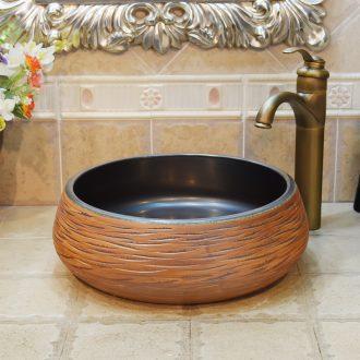 Jingdezhen ceramic lavatory basin basin art on the sink basin basin admiralty straw
