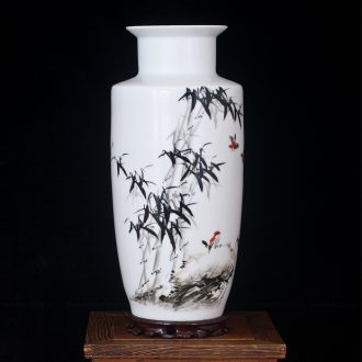 Jingdezhen ceramics modern desktop hand - made vases creative I and contracted sitting room home