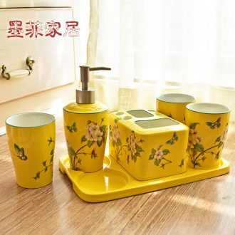Murphy, American country multi - functional ceramic sanitary ware has six sets of new classic bathroom toilet toiletries furnishing articles