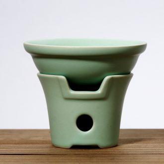 Good creative your up up tea tea to open the slice hook tea - leaf filtering your porcelain ceramic kung fu tea tea taking with zero