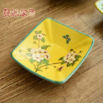 Murphy, American country ceramic small fruit bowl of new Chinese style classical seeds dish soap dish sitting room adornment ashtray