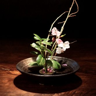 Flower arranging a Japanese sword mountain Flower implement floral small streams, ikebana Flower arranging would flowerpot zen ideas flowerpot ceramics