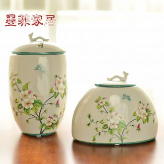 Murphy receive new Chinese ceramic pot American country wine rich ancient frame example room sitting room soft adornment is placed