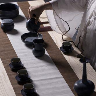 Million kilowatt/ceramic tea set # kung fu tea set combinations of a complete set of tea set gift willing to give up