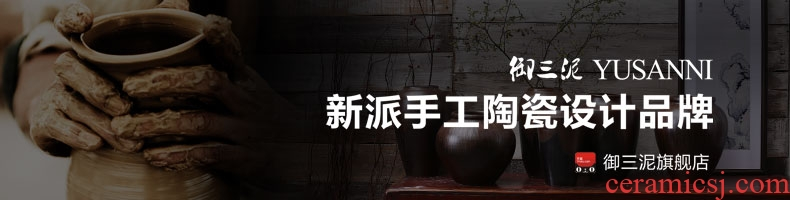 Jingdezhen ceramic flower vase a sitting room be born Chinese style art new Chinese style to decorate the hotel big TV ark - 569380170639