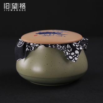 Old at restoring ancient ways, coarse pottery deposit ceramic POTS small caddy fixings kung fu pu 'er tea storage tanks in bulk POTS