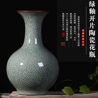 Archaize of jingdezhen ceramics large ground vases, flower arranging living room TV cabinet decoration of Chinese style household furnishing articles - 572616835989