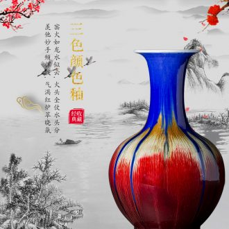 381 jingdezhen ceramics hand - made archaize peony landing big vase vases sitting room decoration as furnishing articles - 573028717887
