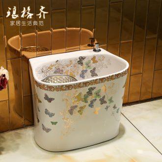 A large pool of jingdezhen ceramic wash mop mop pool terrace pool palmer mop mop pool toilet bowl